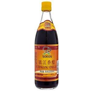 Soeos Chinkiang Vinegar, Chinese Black Vinegar