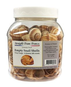 Straight From France Canned Escargots