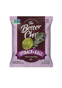 The Better Chip Spinach And Kale Chips