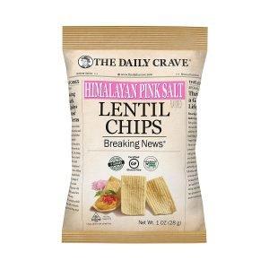 The Daily Crave Himalayan Pink Salt Lentil Chips
