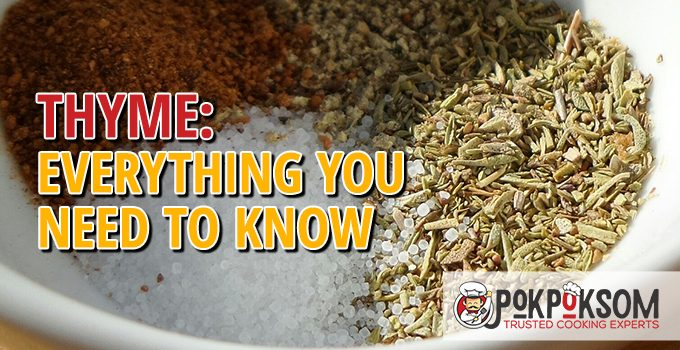Thyme Everything You Need To Know