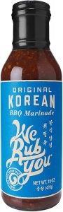 We Rub You Original Korean Bbq Sauce