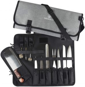 Wessleco Chef Knife Bag