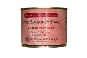 Wild Burgundy Canned Escargot