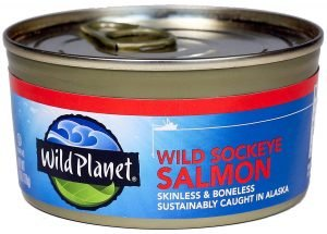 Wild Planet Canned Wild Sockeye Salmon