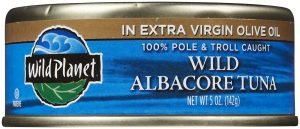 Wild Planet Tuna Albacore In Extra Virgin Olive Oil