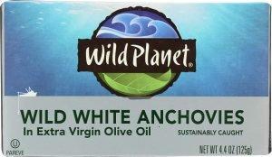Wild Planet Wild White Anchovies