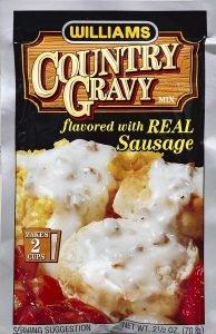 Williams Gravy Mix With Sausage