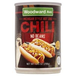 Woodward Ave Hot Dog Chili