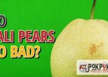 Do Yali Pears Go Bad?