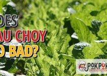 Does Yau Choy Go Bad?