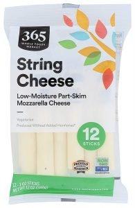 365 By Wfm Cheese String Mozzarella