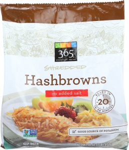 365 By Wfm Potatoes Hashbrowns Shredded