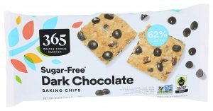 365 By Whole Foods Market Sugar Free Dark Chocolate Chips