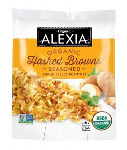 Alexia Organic Hashed Browns Seasoned Yukon Select Potatoes