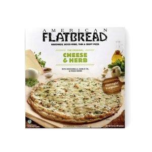American Flatbread Frozen Premium Cheese And Herb Pizza