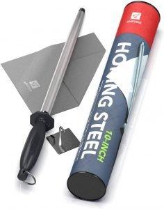Amesser Honing Steel Knife Sharpener