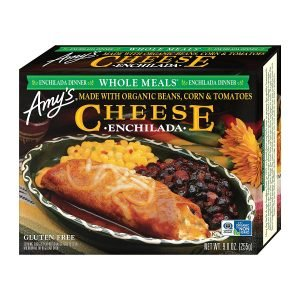 Amy's Cheese Enchilada Meal