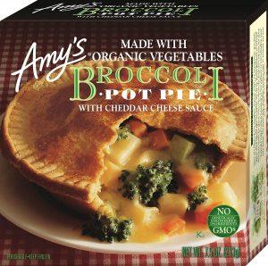 Amy's Pot Pie Broccoli Cheese