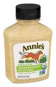 Annie's Horseradish Mustard