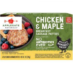 Applegate Natural Chicken & Maple Frozen Breakfast