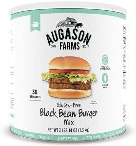 Augason Farms Gluten Free Black Bean Burger