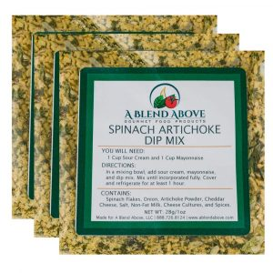 Bek Brands A Blend Above Spinach And Artichoke Dip Mix Seasoning Packet