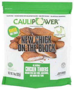 Cauliflower Crusted Chicken Tenders