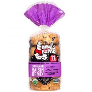 Dave's Killer Bread Raisin Bagels