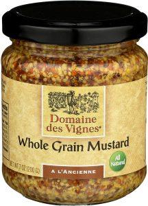 Domaine Des Vignes Whole Grain Mustard