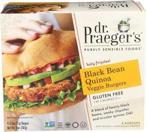 Dr. Praeger's Black Bean Quinoa Veggie Burger