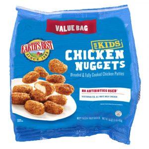 Earth's Best Frozen Chicken Nuggets