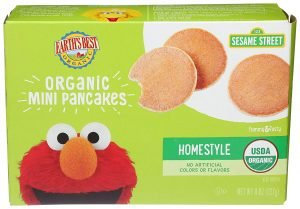 Earth's Best Pancakes Mini Homestyle Organic