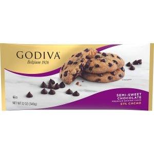 Godiva Premium Baking Semi Sweet Chocolate Chips