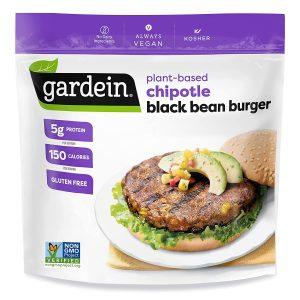 Gardein Gluten Free Plant Based Chipotle Black Bean Burger