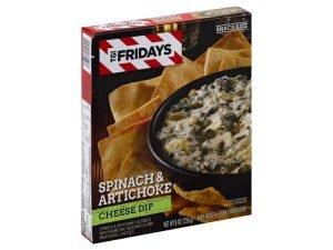 Heinz Tgi Fridays Spinach And Artichoke Cheese Dip