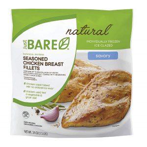 Just Bare Chicken Seasoned Chicken Breast Fillets