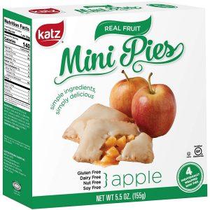 Katz Gluten Free Mini Apple Pies