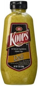 Koops Mustard Squeeze Spicy Brown