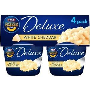 Kraft Deluxe White Cheddar Macaroni & Cheese