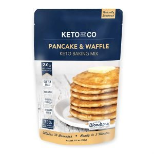 Low Carb Pancake & Waffle Mix By Keto And Co