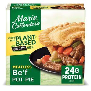 Marie Callender's Plant Based Beef Pot Pie Frozen Meal