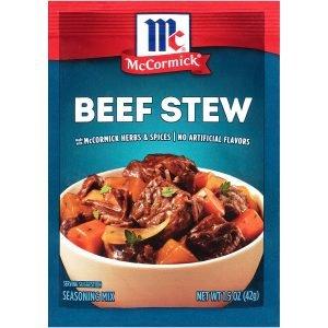 Mccormick Classic Beef Stew
