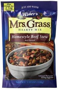 Mrs. Grass Homestlye Beef Stew