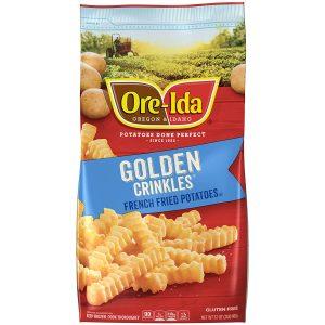 Ore Ida Frozen Golden Crinkles French Fries