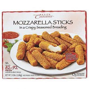 Petite Cuisine Breaded Mozzarella Cheese Sticks