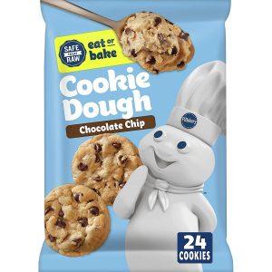 Pillsbury Ready To Bake Chocolate Chip Cookie Dough
