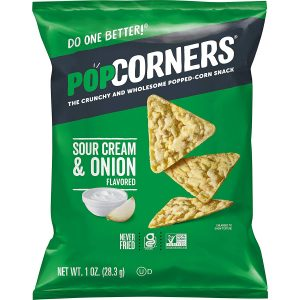 Popcorners Snacks Gluten Free Sour Cream And Onion Chips