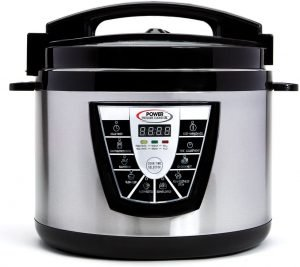 Power Pressure Cooker Canner Cookware