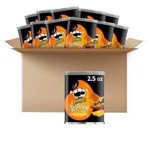 Pringles Scorchin' Potato Chips